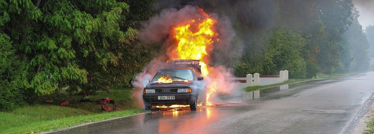 car-accident-burning